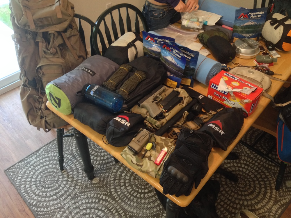 Another multi-day trip loadout