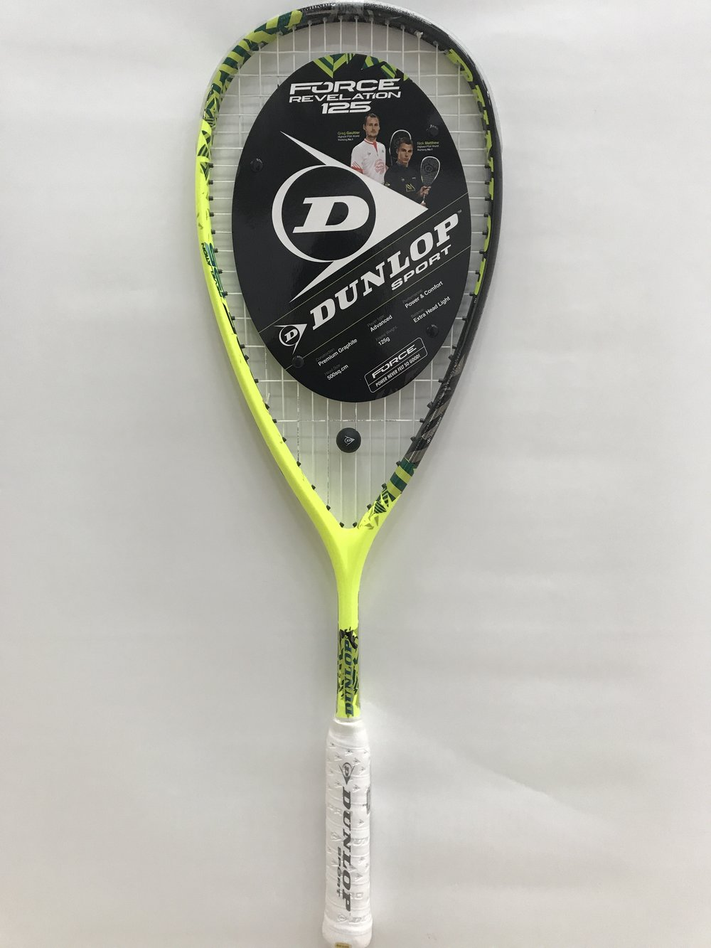Dunlop Force Revelation 125 ($190)
