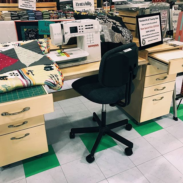 Looking for something to do this weekend? Stephanie from North Vancouver's Stitch and Bobbin Quilt Shop is at the Westshore Quilters Guild quilt show. Stop in to see what she has to offer and check out one of our 6528 Standard XL sewing tables and our Press and Store Quilters Preference. . . . . . . . . . . #eddycrestfurniture #stitchandbobbinquiltshop #westshorequiltersguild #westshorequiltshow #supportyourlocalquiltshop #sewingfurniture #vancouver #vancouverisland #langfordbc