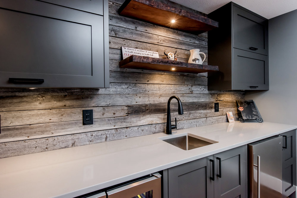 view ourCUSTOM CABINETS -