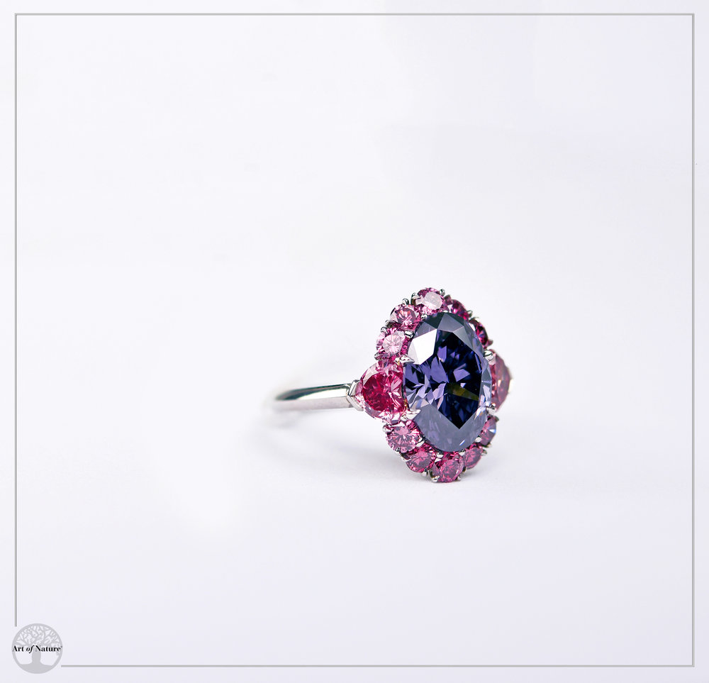 The Argyle Violet Diamond - Worlds most prestigious Violet diamond
