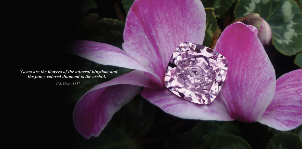 diamond orchid ring