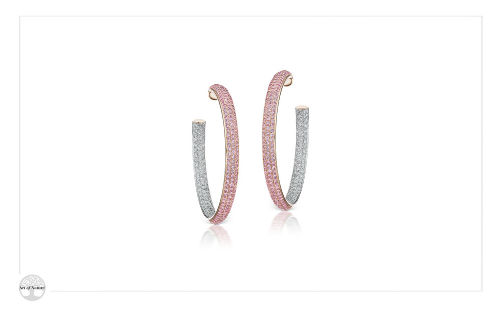 Scott West - Aureole large hoops