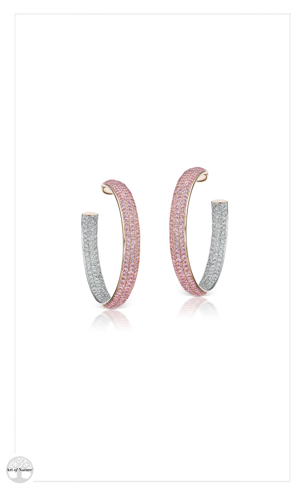 Scott West - Aureole small hoops