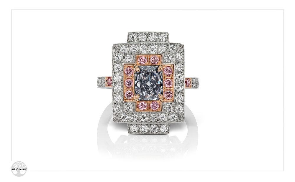 Scott West - Deco Grey ring