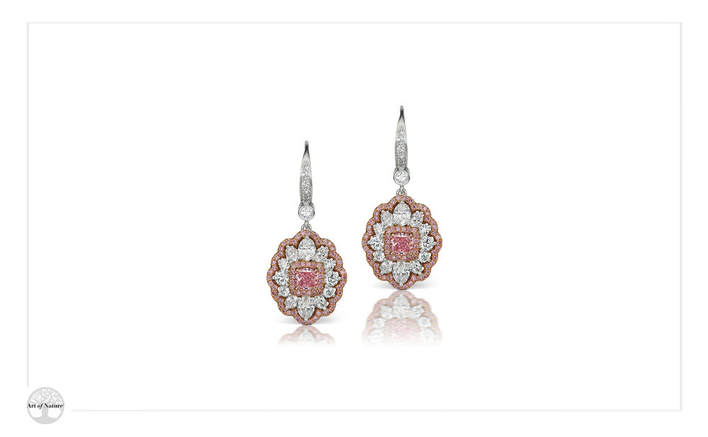 Scott West - Rose Earrings