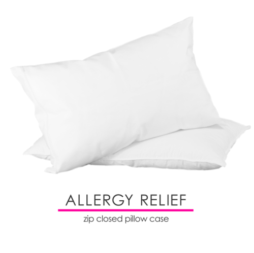 Mitex Allergy AntiAllergy Beds AntiAllergy Pillow Cover Zipped Fascinating Allergy Free Pillow Covers