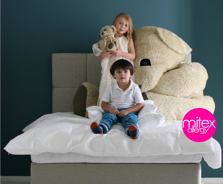 We spent the weekend getting new shots of our anti-allergy bedding....comments welcome!