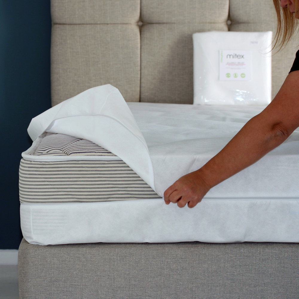 Anti-Allergy Encasement Mattress Cover for total protection against dust mites.