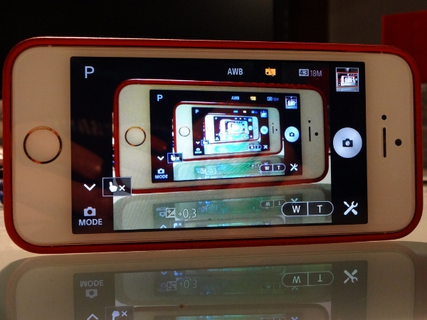 iPhone from the outside looking in from the outside looking in, from the outside looking in, from the outside looking in... What does one see? Is it in Trude Tone color? :D