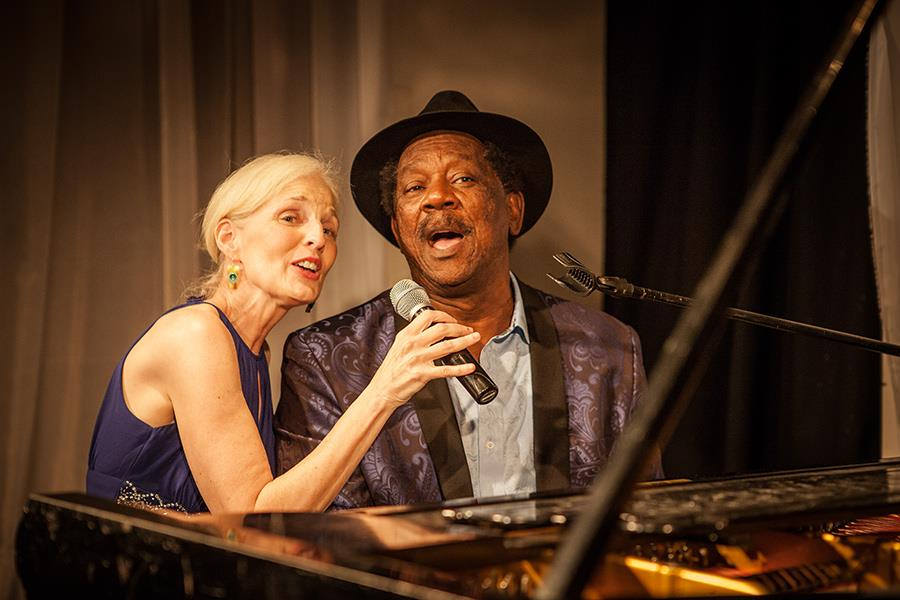 Sunday, February 26 at 9:00 p.m. Jazz Concert featuring Pamela Howland and Stan Breckenridge Duo featuring their four-hand piano, and piano and vocal selections.  30 minutes, to be followed by the Stan Breckenridge Trio.