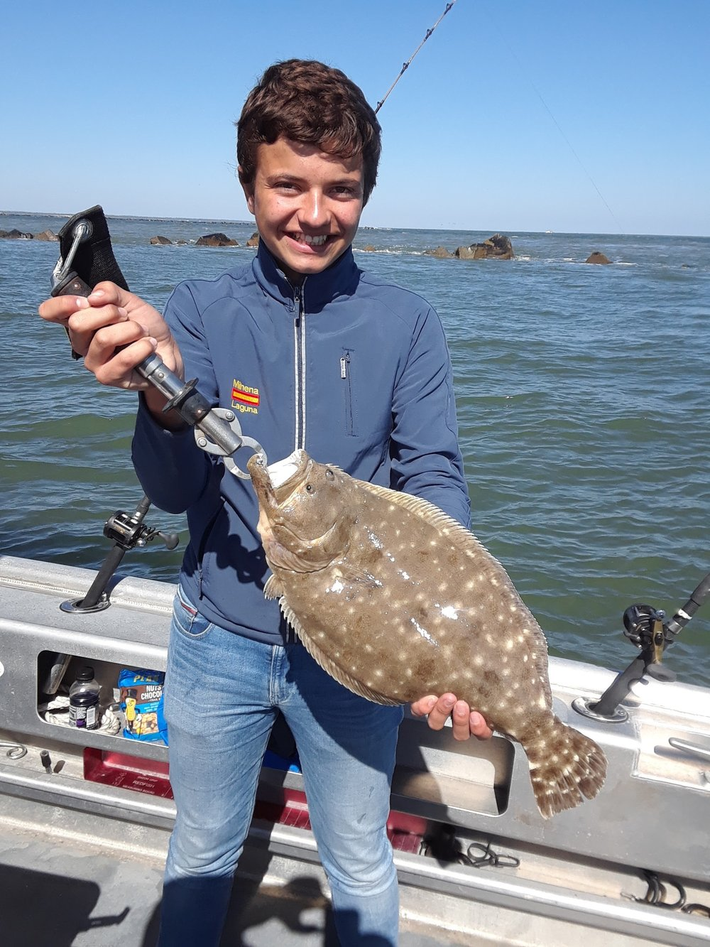 Jacksonville Flounder Fishing w/ Capt Dave Sipler