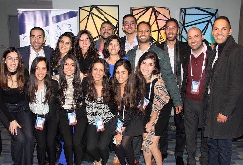 Some of our 2016 Maher Fellows at AIPAC Policy Conference