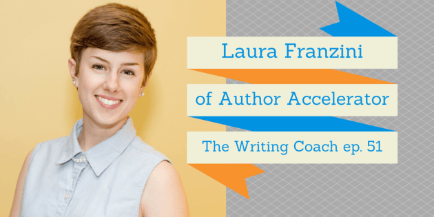 Click here to listen to Laura Franzini talk about Author Accelerator and the behind-the-scenes magic that happens when she pairs a writer with a book coach.