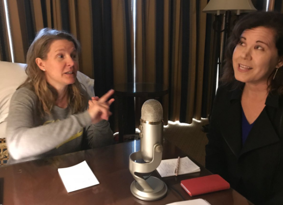 Here I am chatting with bestselling writer KJ Dell'Antonio on the #amwriting podcast.