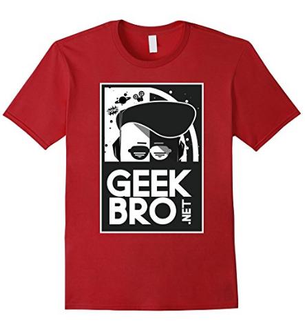 GeekBro (WHITE) Logo