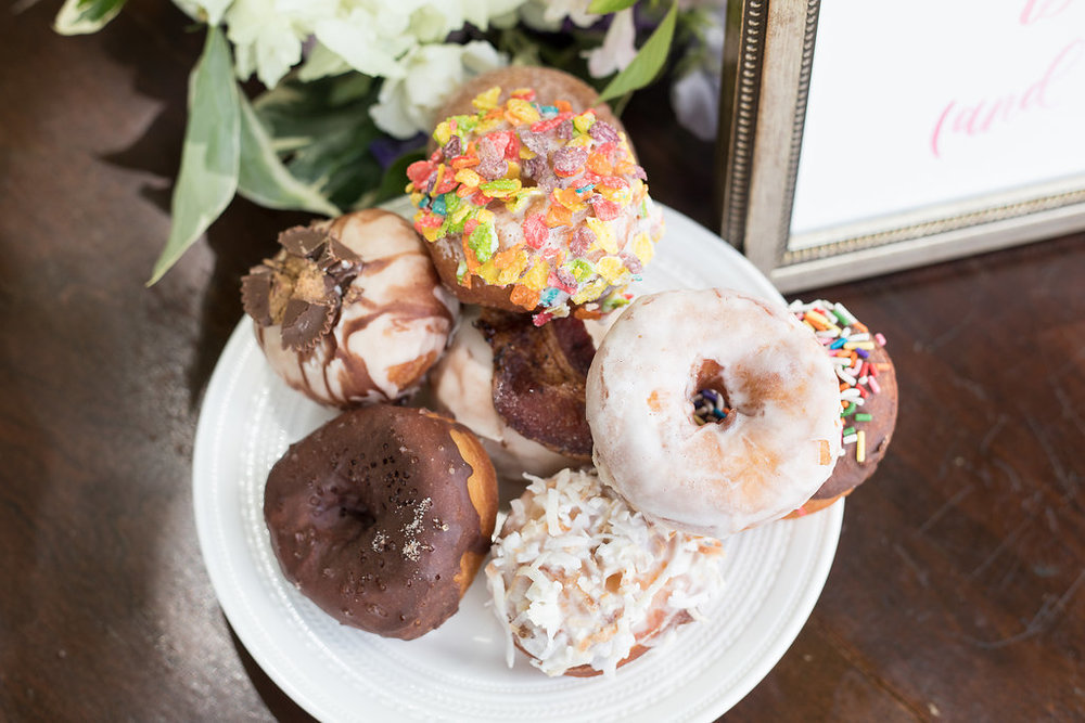 Donut pop up for Boston Wedding