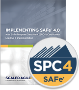 - This four-day course will prepare you to lead an enterprise Agile transformation by leveraging the Scaled Agile Framework® (SAFe®). You will learn how to effectively apply the principles and practices of SAFe, including training with SAFe courseware, and coaching teams, launching Agile Release Trains, and building and managing an Agile portfolio. The first two days of the course—Leading SAFe—will provide you with the basis to teach SAFe to others, and if certified you'll be eligible to teach the Leading SAFe course. The next two days focus exclusively on implementing SAFe.