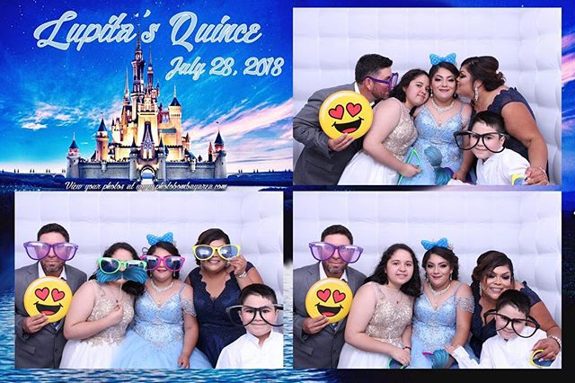Want a customized border?? Have our graphic designers whip something up to match the theme of your party! #photobooth #cinderella #partyrental #eventrentals #quince #celebration #happybirthday #celebration #photographer #customized #summer #bayareaphotographer #partytime #saycheese #smile #selfie #takeapicture