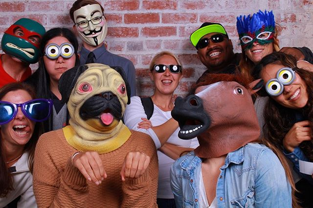 What are you going to be for Halloween this year?? I hope it's just as fun as when people get propped up to takes some shots in our photobooth! #halloween #photobooth #partyrentals #eventrentals #puglife #horsehead #props #wedding #corporateevents #bayareaphotographer #prints #saycheese #smile #partytime