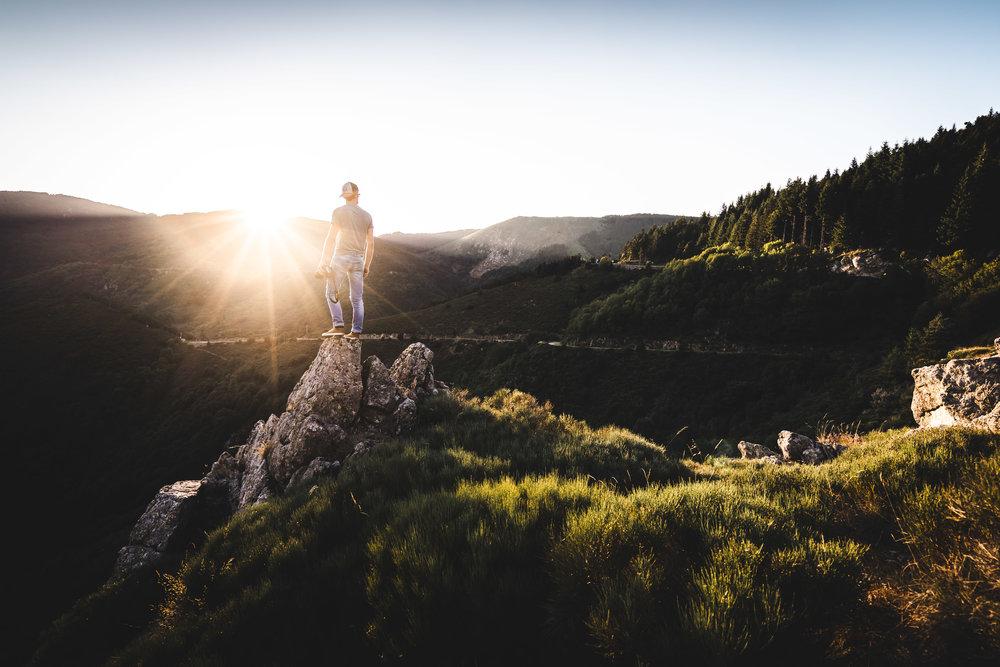 En quête de lumière, Ardèche