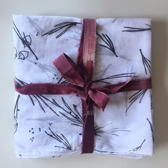 We still have some wonderful hand crafted gifts in stock! All products listed on our website are ready to ship or you can contact us to come by our studio to shop in person! #madeinkc #handmade #textiles #womenwhomake #surfacepattern #shopsmall