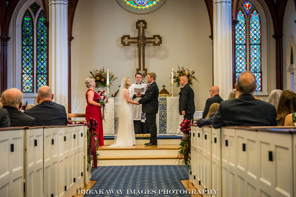Taking the vows