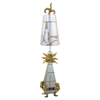 Flambeau TA1016 Abstract Table Lamp