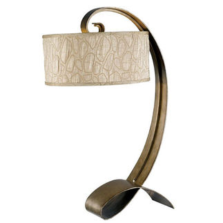 Kenroy Home 20090SMB Retro Table Lamp
