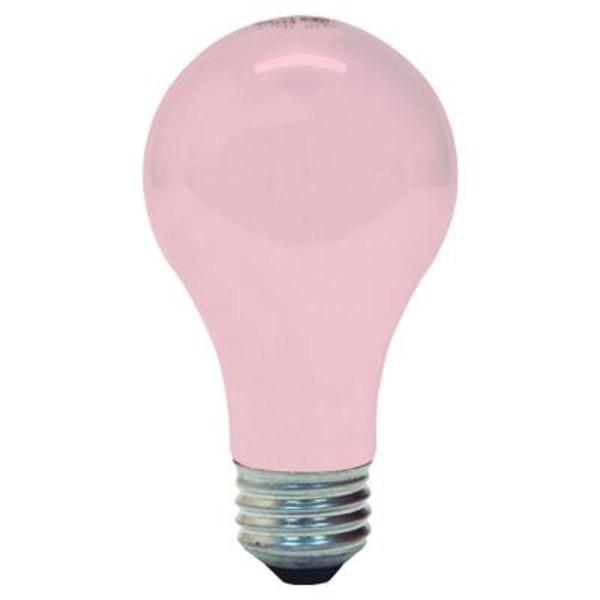 GE 97483 - 60 Watt - Opaque Soft Pink