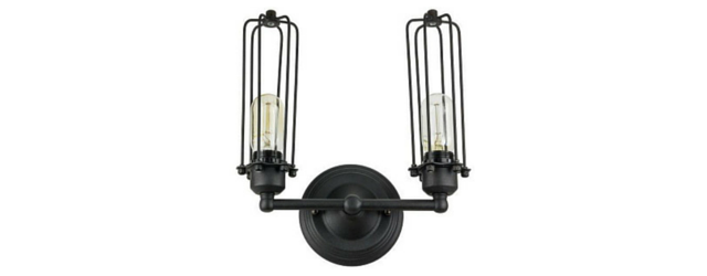 Sunlite 07040-SU - Antique Cage Wall Sconce