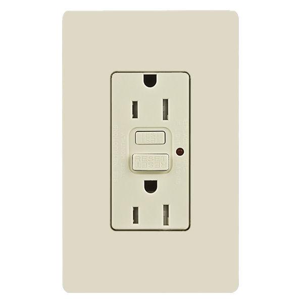 GFCI receptacle outlet