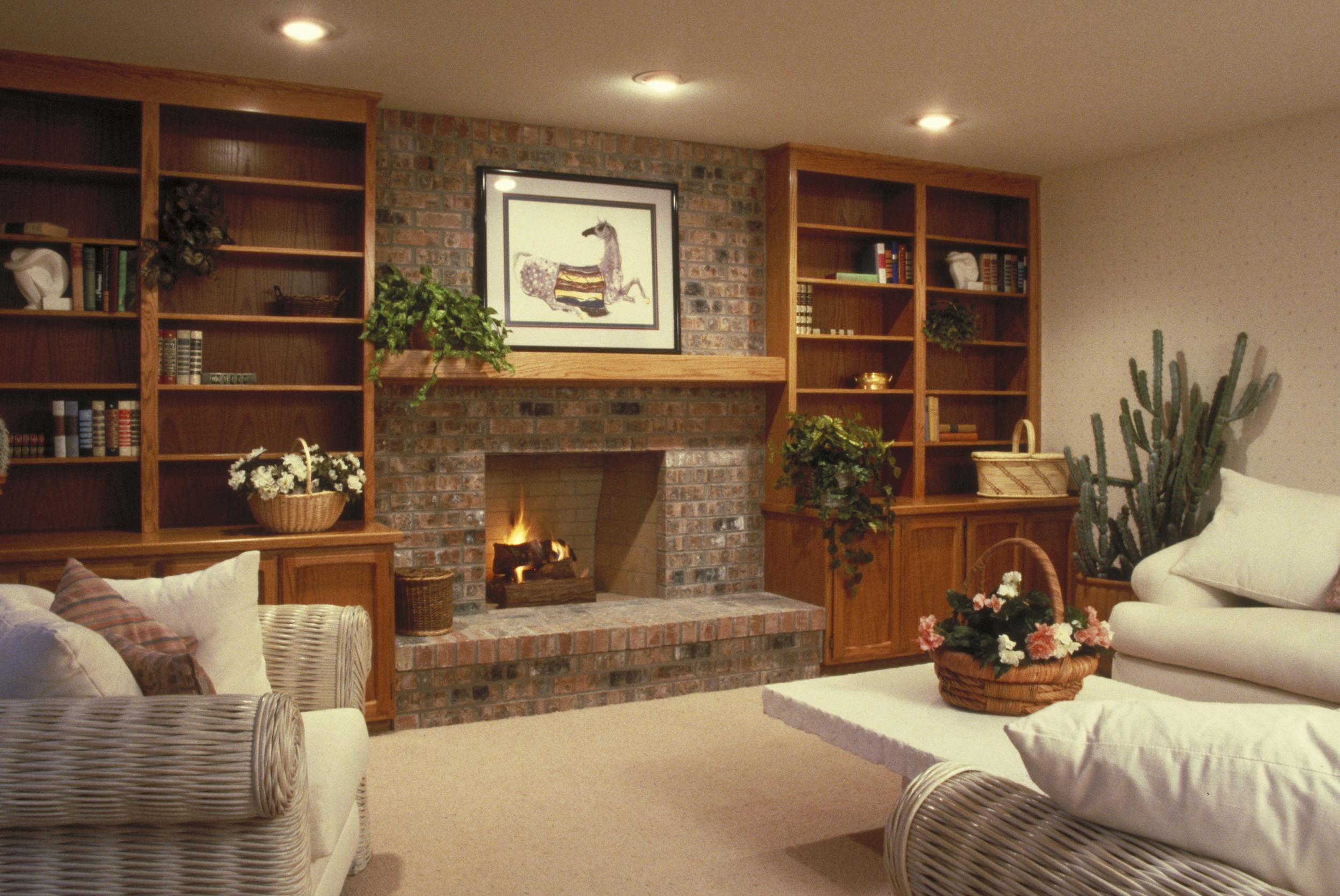 Warm White Light In Living Room