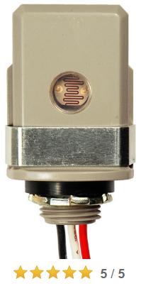 Read all 3 reviews . 120 Volt Light Sensor