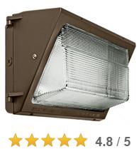 Read all 12 reviews. 165 Watt Equal LED Wall Pack