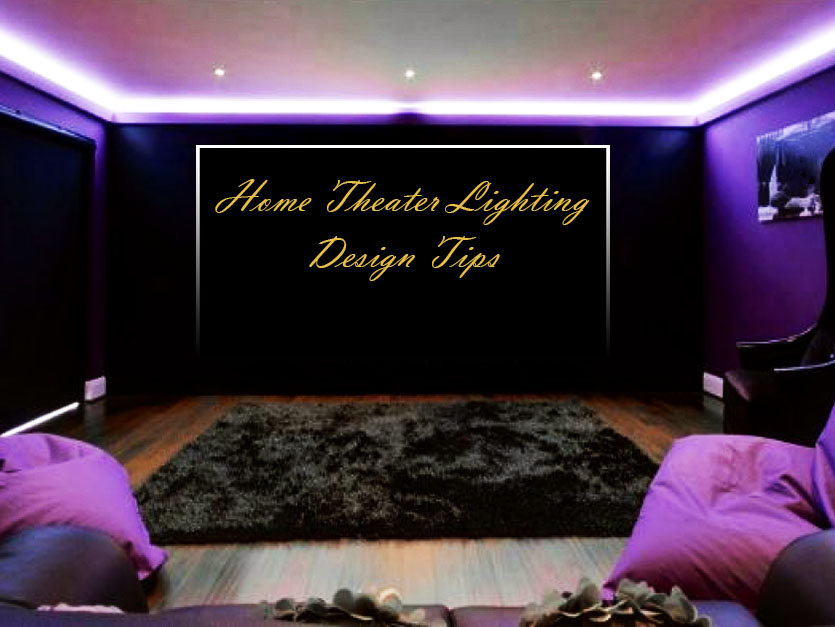 dec 19 home theater lighting design tips - Home Theater Lighting Design