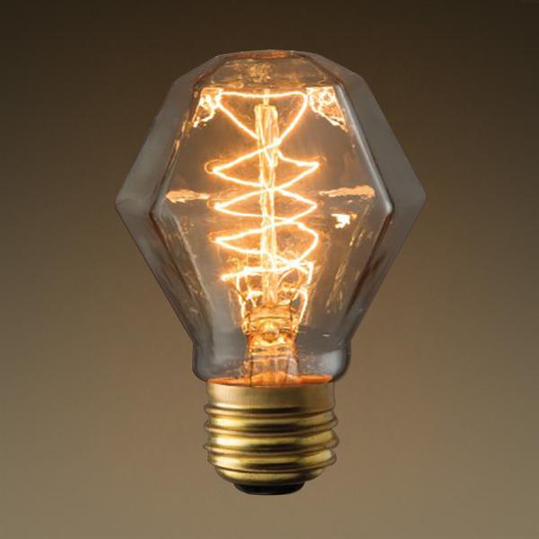 Gemstone shaped bulb