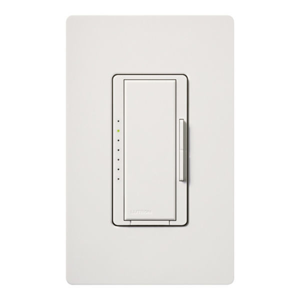 Lutron Maestro dimmer switch with wallplate