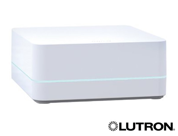 The Lutron Smart Bridge hub