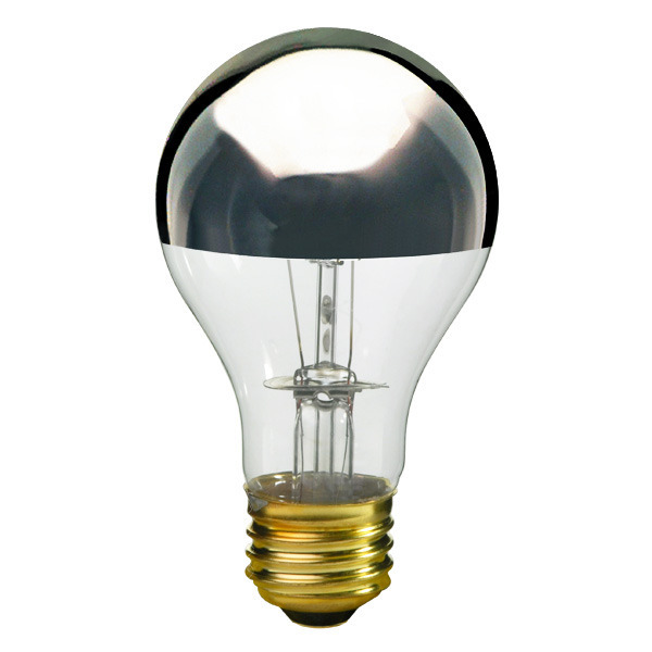 Silver bowl bulb  by Bulbrite