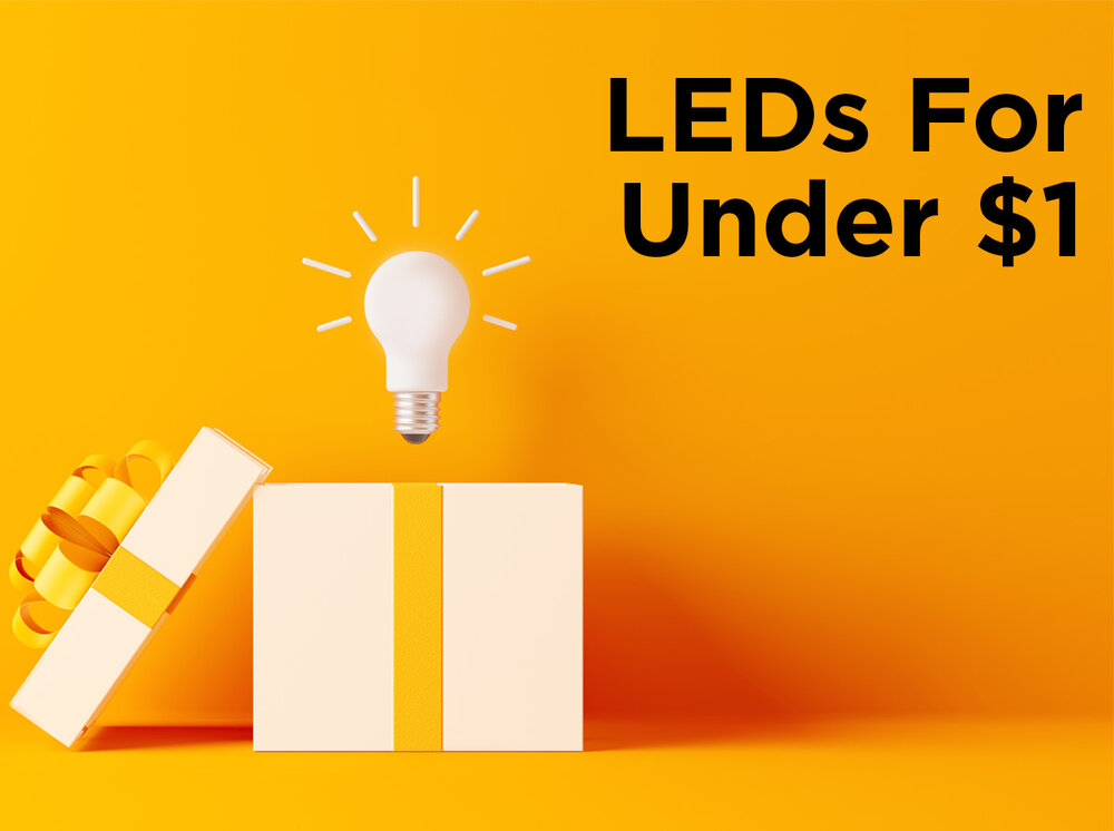 65ede1605 1000Bulbs.com Offers LEDs for Less Than $1 During Black Friday and Cyber  Monday Week