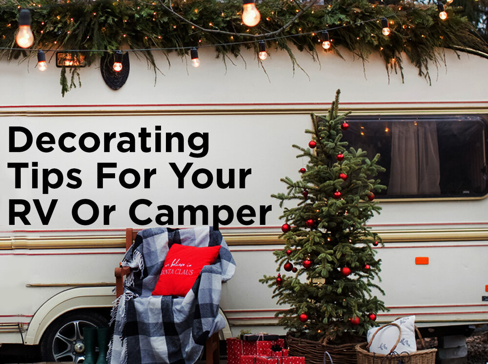 tips for decorating your camper or rv for christmas