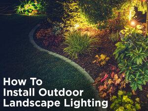 Planning your low voltage outdoor landscape lighting 1000bulbs how to install low voltage outdoor landscape lighting publicscrutiny Image collections