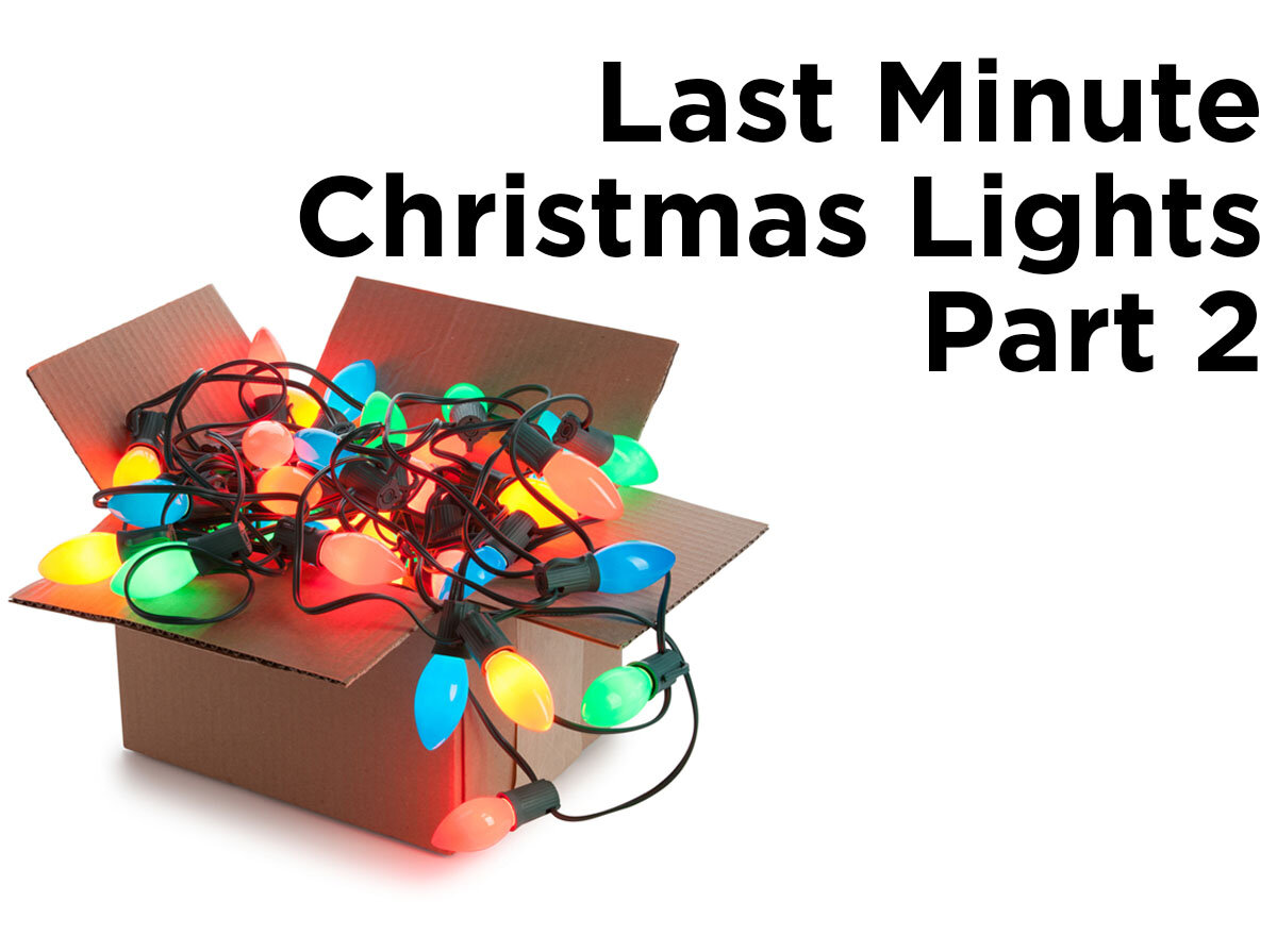 Tips To Avoid Tripping Your Circuit Breaker During The Holidays Apparatus For Magically On Wiring Dec 18 Last Minute Christmas Lights Part 2