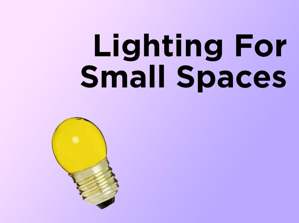 Lighting For Small Spaces lighting for small spaces — 1000bulbs blog