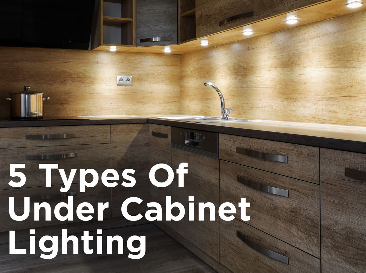 5 Types Of Under Cabinet Lighting: Pros U0026 Cons