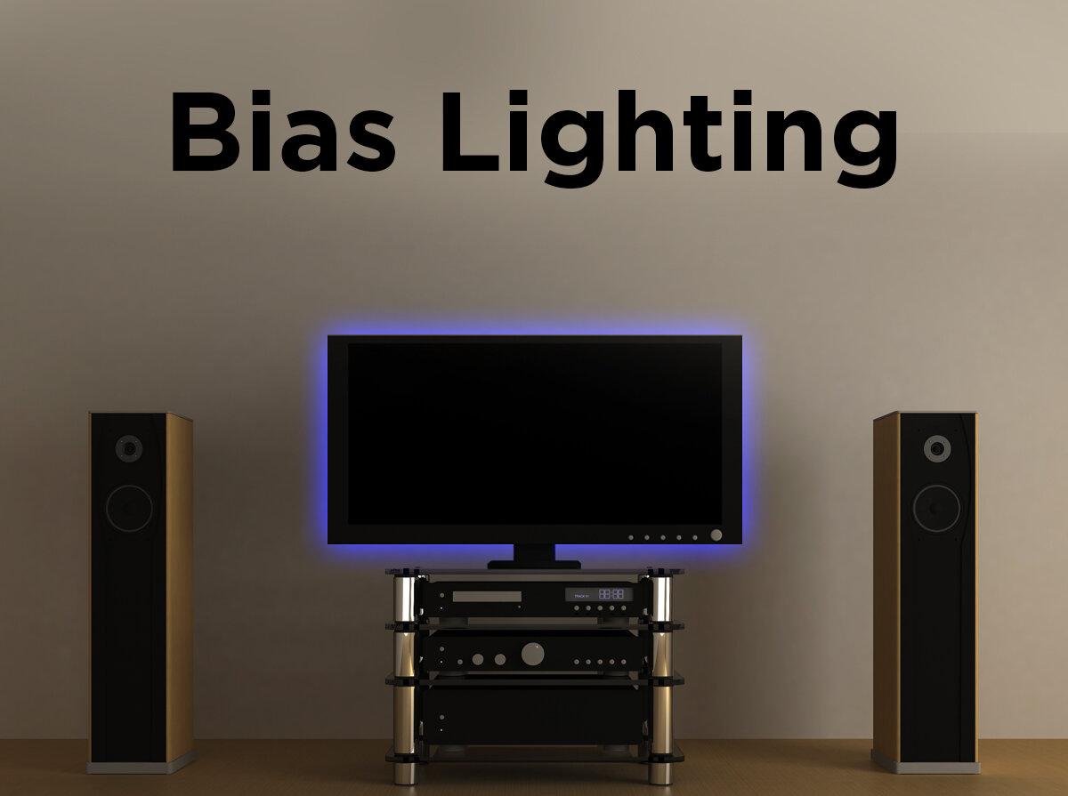 Bias Lighting 4 Ways to Backlight a TV & Bias Lighting: 4 Ways to Backlight a TV u2014 1000Bulbs.com Blog azcodes.com