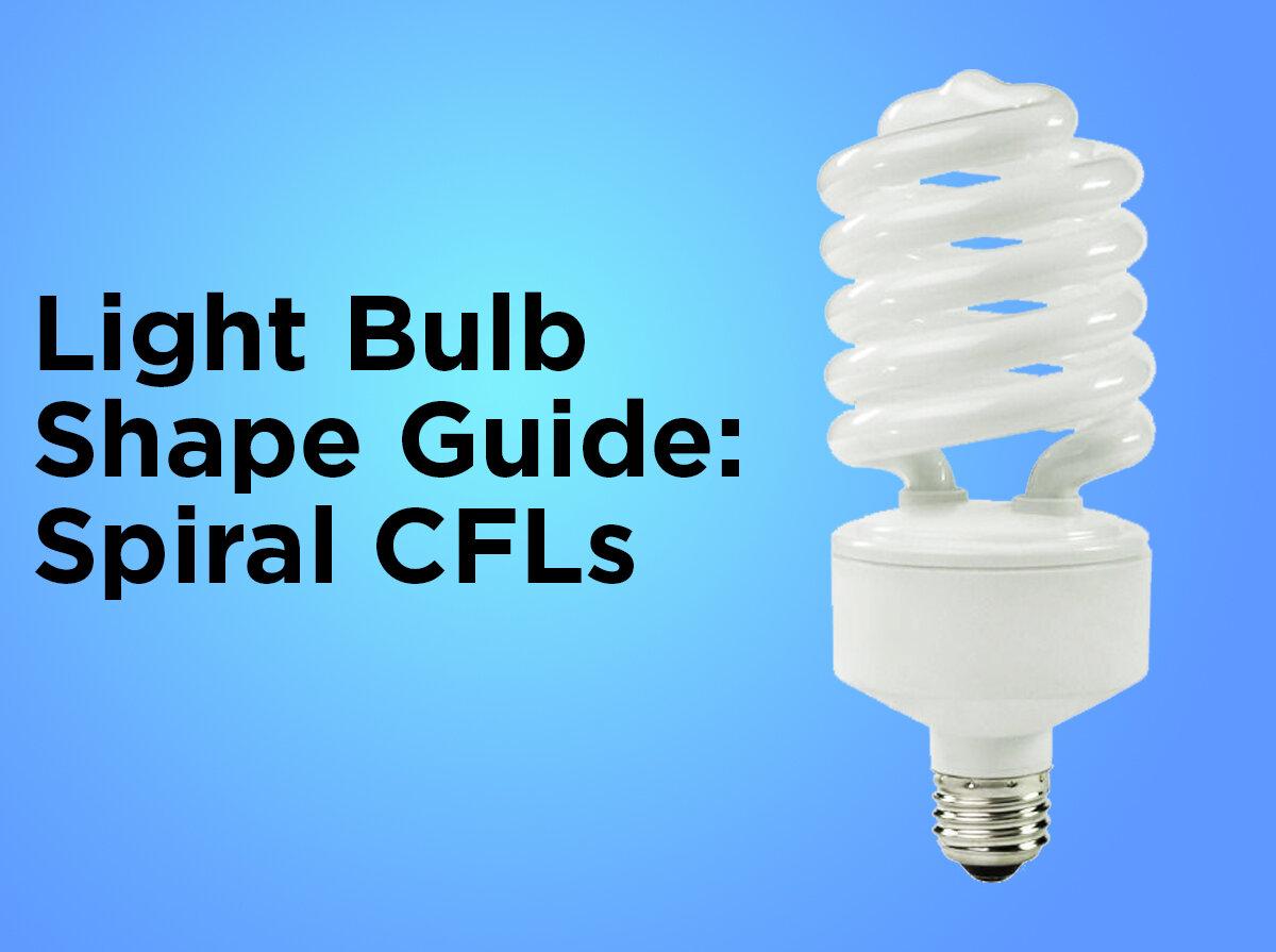 Light Bulb Shape Guide: Spiral CFLs - Troubleshooting Christmas Lights €� 1000Bulbs.com Blog