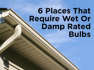 Bathroom Light Fixtures Damp Location what exactly do ul ratings mean? — 1000bulbs blog