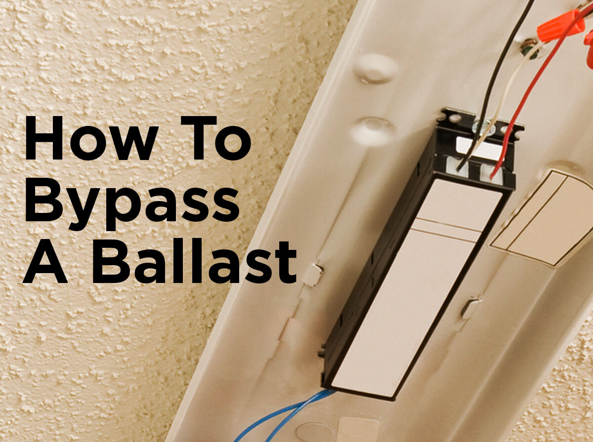 How To Byp A Ballast — 1000Bulbs.com Blog Ballast Byp Led Tube Light Wiring Diagram on